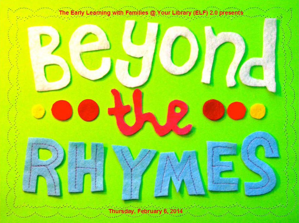 Beyond the Rhymes: Rethinking Storytimes webinar