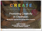 Promoting Creativity in Childhood